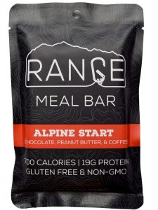 Range meal bars high calorie all natural gluten free meal bar for ultralight backpacking skiing climbing and hunting