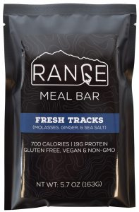 Range meal bars high calorie all natural gluten free vegan meal bar for ultralight backpacking skiing climbing and hunting